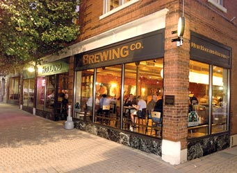 New Holland Brewery Food Menu